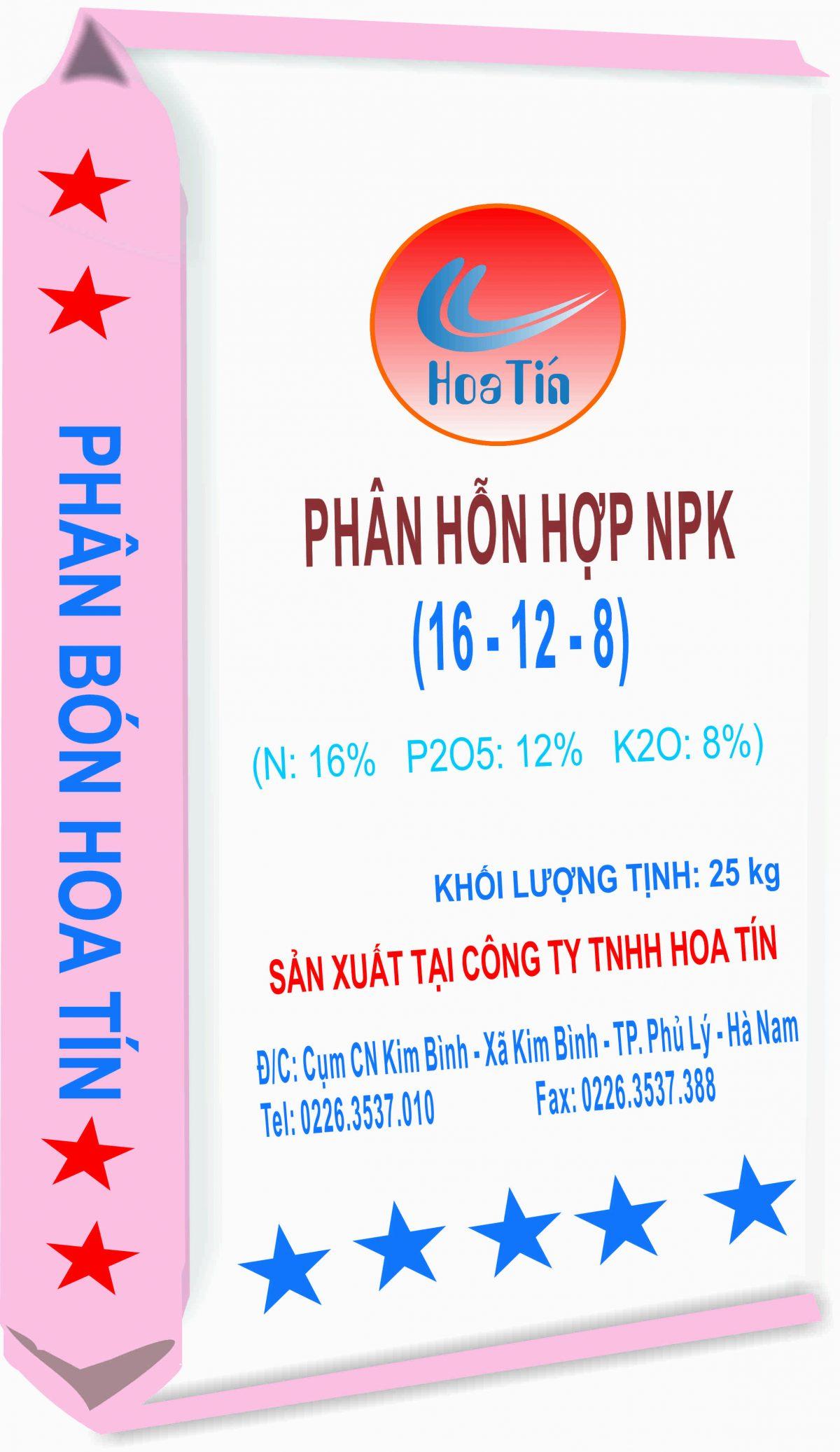 NPK 16-12-8+TE